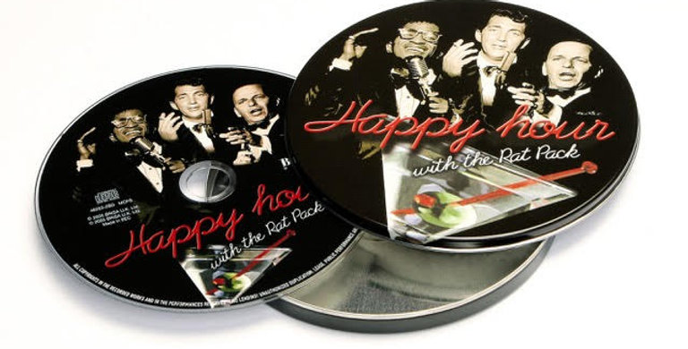 CD HAPPY HOUR WITH THE RAT PACK