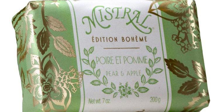Poire et Pomme Boheme soap
