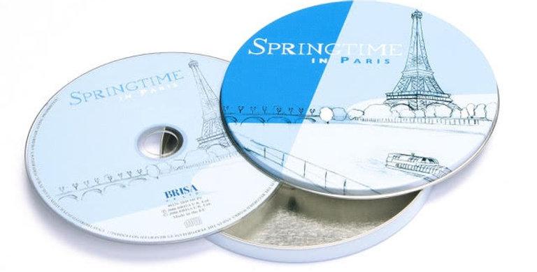 CD SPRINGTIME IN PARIS