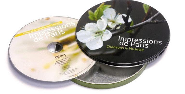 CD IMPRESSIONS DE PARIS