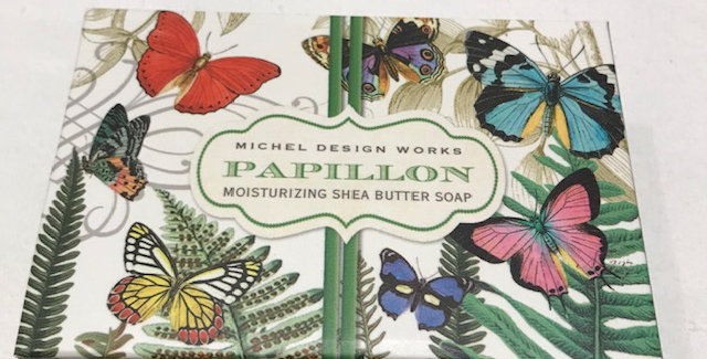 Papillon Boxed Single Soap