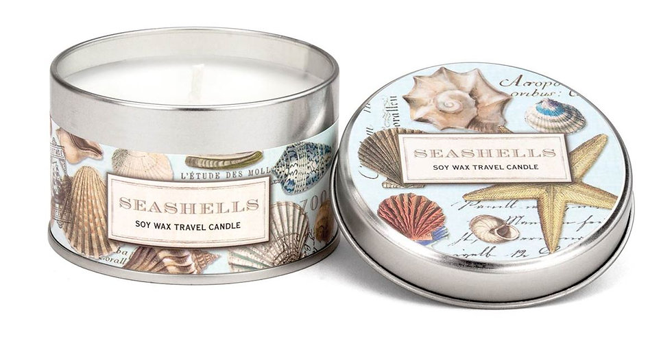 Seashell Travel Candle