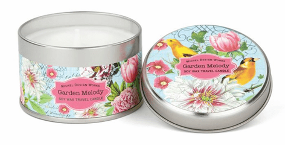 Garden melody Travel Candle