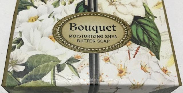 Bouquet Boxed Single Soap