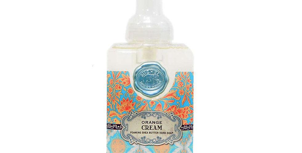 Orange Cream Foaming hand soap