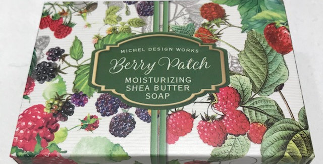 Berry Patch Boxed Single Soap