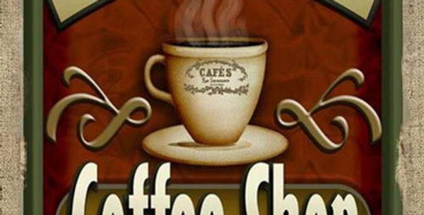 Coffee Shop canvas