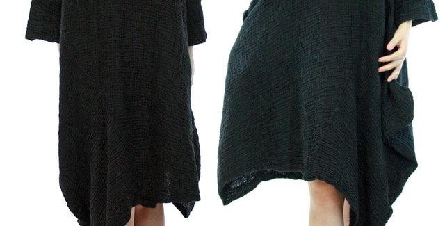 Voluminous Crinkle Dress
