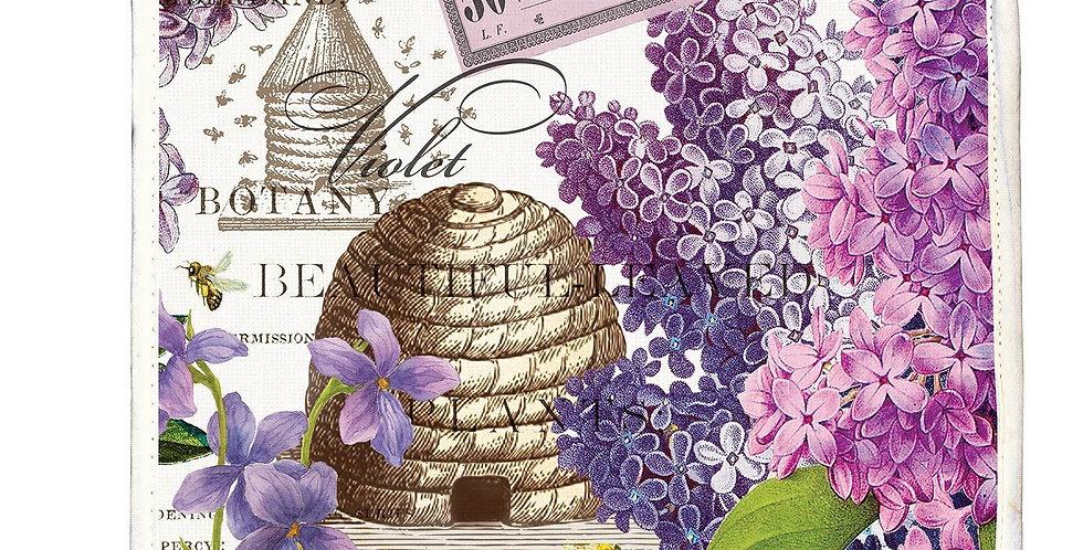 Lilac & Violet Potholder
