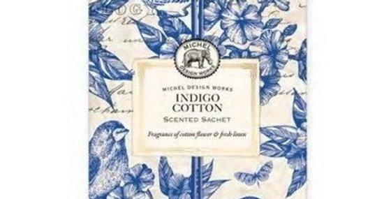Scented Sachet Indigo Cotton