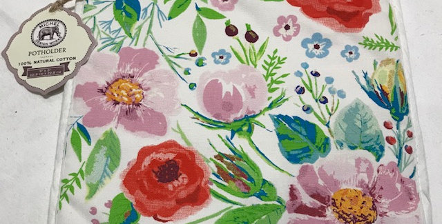 Berry Blossom Potholder