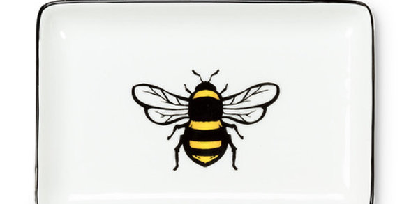 Bee Rectangle Tray