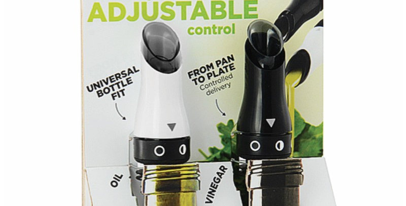 Adjustable Oil & Vinegar Pourers