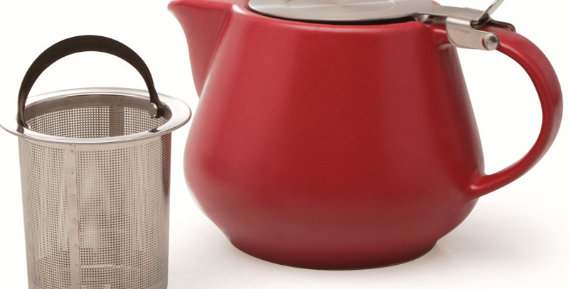 Red Infusing Teapot