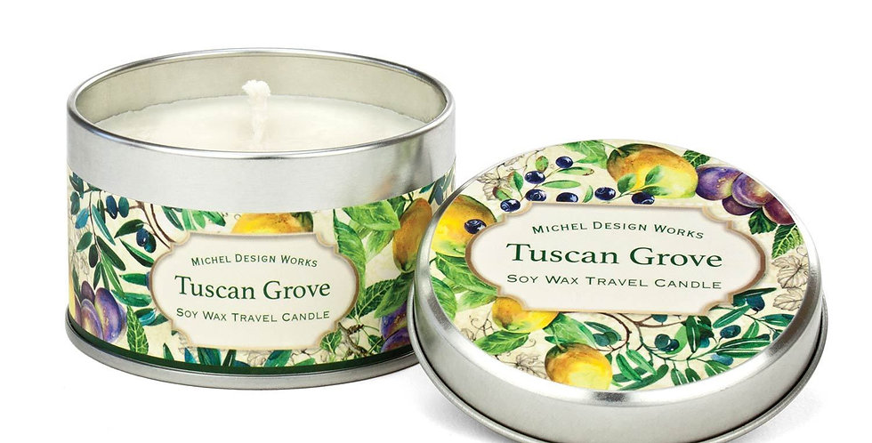 Tuscan Grove Travel Candle