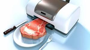 El colectivo vegano da la más calurosa bienvenida a la carne 3D