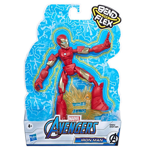 FIGURA BEND AND FLEX IRON MAN