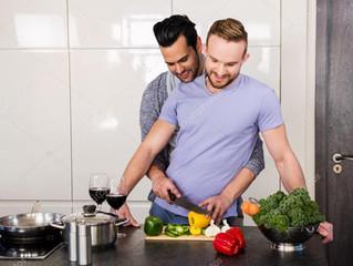 """La carne es cosa de machos y la """"lechuguita"""" para los gays..."""