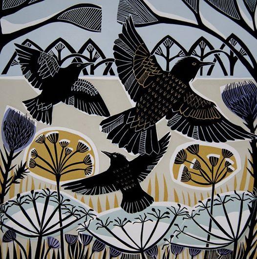 Winter Starlings 2016