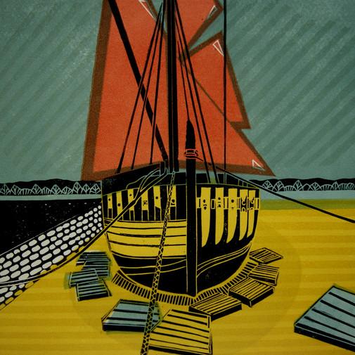 Topsham Barge Boat
