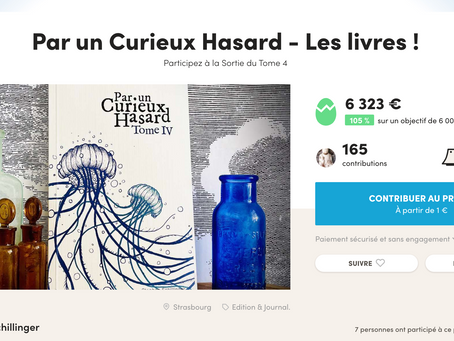 Crowdfunding du Tome 4 : Objectif atteint ! 😍