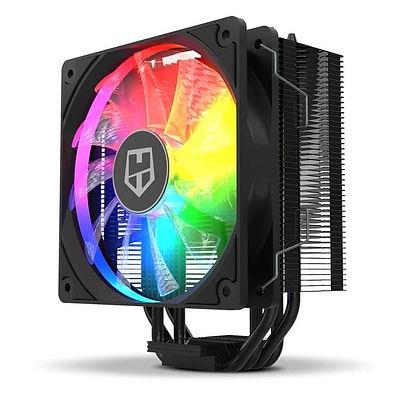 Ventilador para PC, marca Nox, con luces led RGB