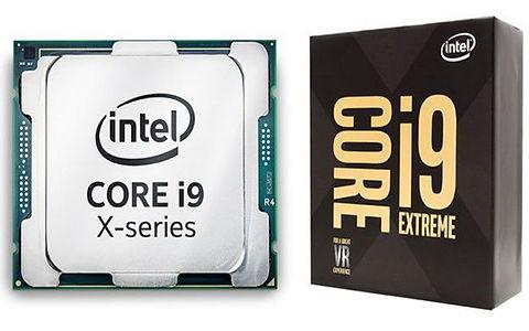 CPU marca Intel, modelo Core i9 X-series