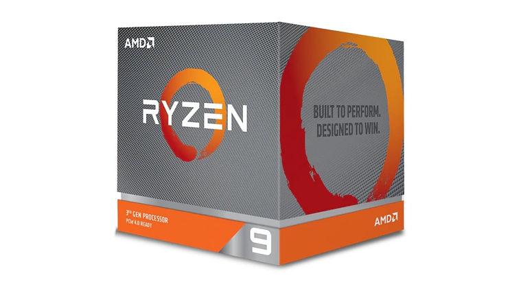CPU marca AMD, modelo Ryzen 9, tercera generación