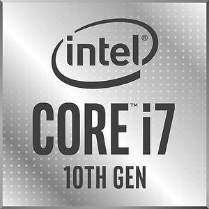 CPU marca Intel, modelo Core i7, décima generación