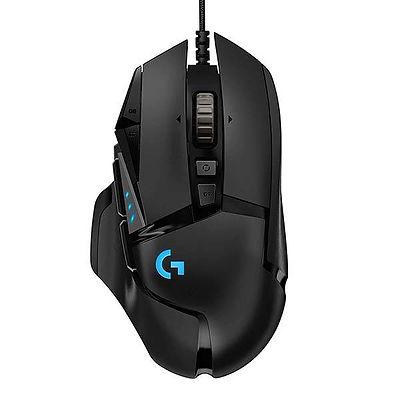 Ratón para PC, marca Logitech, modelo G502 Hero