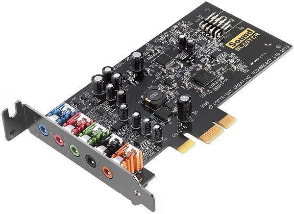 Tarjeta de sonido marca Sound Blaster, modelo Audigy FX 5.1
