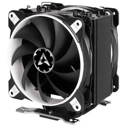 Ventilador para PC, marca Arctic Freezer, en color blanco y negro