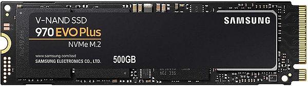 Unidad SSD para PC, marca Samsung, modelo 970 EVO Plus, conector M.2, interfaz NVMe PCI exprés, capacidad 500 GB