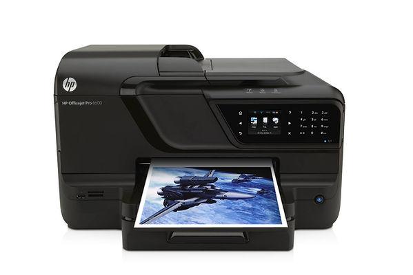 Impresora multifunción marca HP, modelo Officejet Pro 8600