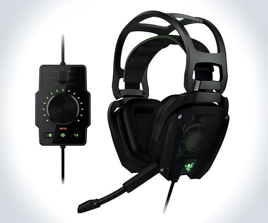 Auriculares gaming para PC, marca Razer, modelo Tiamat, color negro