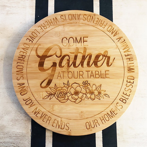 Gather Lazy Susan