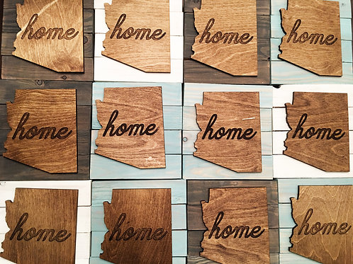 Arizona Home Pallet Art - Small