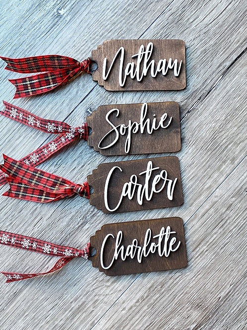 Gift Tags (Stocking Tags)