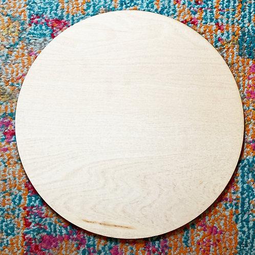 "Extra 10"" Circle, Blank & Unfinished"