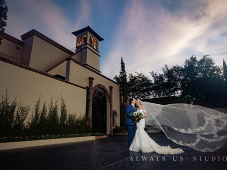 Passionate Wedding at the Bell Tower on 34th in Houston | Madison & Emmanuel