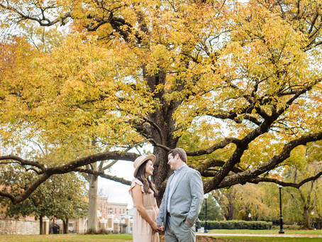 Engagement Session in Washington D.C | Amanda & Ben