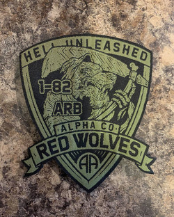 US Army Unit Patch & Logo Design - 1st Attack Reconnaissance Battalion 82nd Combat Aviation Brigade