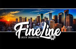 Fine Line Laser Engraving Logo