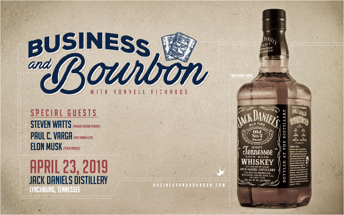Business & Bourbon Logo Design