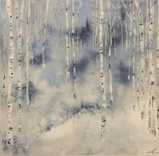 Winter Birch Series by Katie O'Rourke