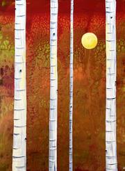 Autumn Birch by Katie O'Rourke