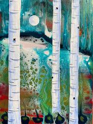 Summer Birch by Katie O'Rourke