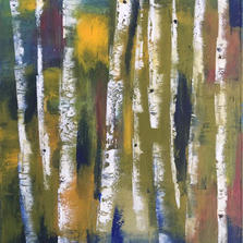 Autumn Birch Series by Katie O'Rourke