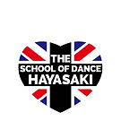 THE SCHOOL OF DANCE HAYASAKIのロゴ