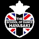 THE SCHOOL OF DANCE HAYASAKIのロゴ